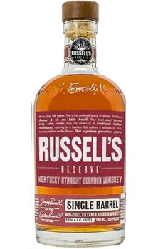 RUSSELL'S RESERVE BOURBON SINGLE BARREL