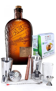 COCKTAIL MIX KIT WITH BIB & TUCKER BOURBON