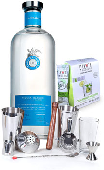 COCKTAIL MIX KIT WITH CASA DRAGONES TEQUILA