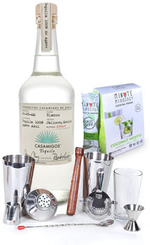 COCKTAIL MIX KIT WITH CASAMIGOS BLANCO TEQUILA