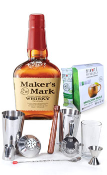 COCKTAIL MIX KIT WITH MAKER'S MARK BOURBON WHISKEY