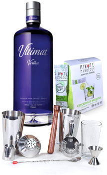 COCKTAIL MIX KIT WITH ULTIMAT VODKA
