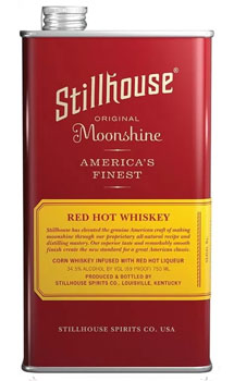 STILLHOUSE MOONSHINE RED HOT TIN