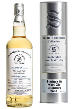 2003 SIGNATORY CAOL ILA SINGLE MALT