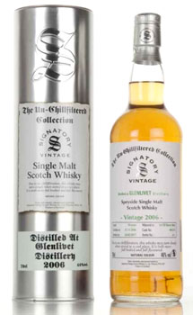 2006 SIGNATORY GLENLIVET SINGLE MAL