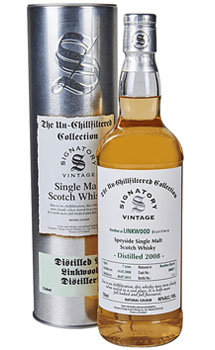 2008 SIGNATORY LINKWOOD SINGLE MALT