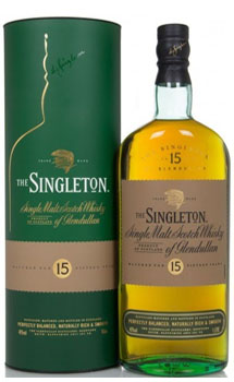 SINGLETON OF GLENDULLAN SCOTCH SING