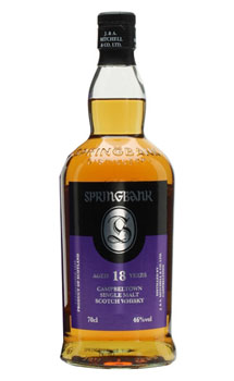 SPRINGBANK CAMPBELTOWN SCOTCH SINGLE MALT 18 YEAR N/V - 750ML