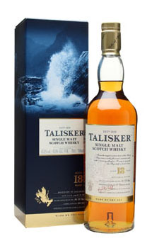 TALISKER SCOTCH SINGLE MALT 18 YEAR