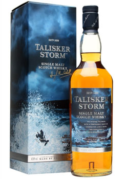 TALISKER SCOTCH SINGLE MALT STORM