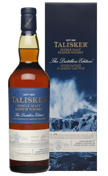 TALISKER SCOTCH SINGLE MALT DISTILL