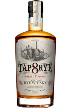 TAP RYE WHISKY 8 YEAR SHERRY FINISHED