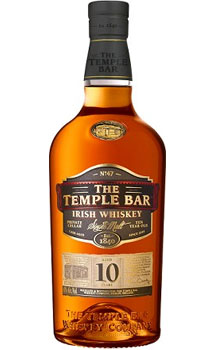 THE TEMPLE BAR IRISH WHISKEY SINGLE MALT 10 YEAR