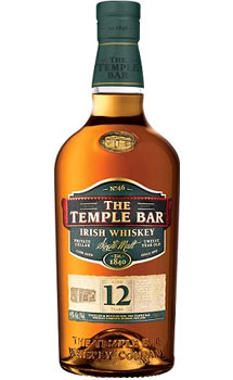 THE TEMPLE BAR IRISH WHISKEY SINGLE MALT 12 YEAR