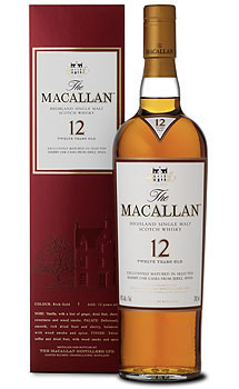 THE MACALLAN 12 YEAR OLD SINGLE MAL