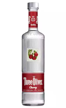 THREE OLIVES VODKA CHERRY