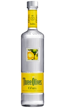 THREE OLIVES VODKA CITRUS