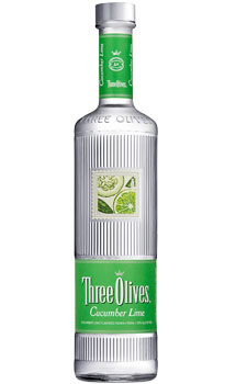 THREE OLIVES VODKA CUCUMBER LIME