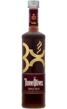 THREE OLIVES VODKA TRIPLE SHOT ESPRESSO
