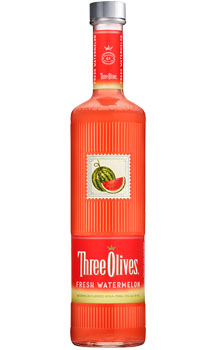 THREE OLIVES VODKA FRESH WATERMELON
