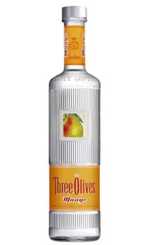 THREE OLIVES VODKA MANGO