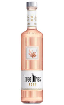 THREE OLIVES VODKA ROSE