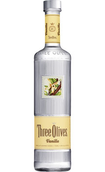 THREE OLIVES VODKA VANILLA