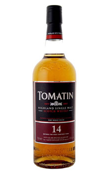 TOMATIN SCOTCH SINGLE MALT 14 YEAR