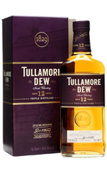 TULLAMORE DEW 12 YEAR OLD TRIPLE DI