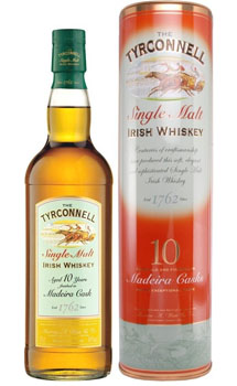 TYCONNELL IRISH WHISKEY 10 YEAR MAD