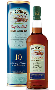 TYCONNELL IRISH WHISKEY 10 YEAR SHE