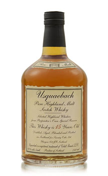 USQUAEBACH SCOTCH 15 YEAR OLD