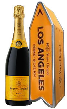 VEUVE CLICQUOT ARROW TIN LOS ANGELES CHAMPAGNE JOURNEY STREET - LIMITED EDITION
