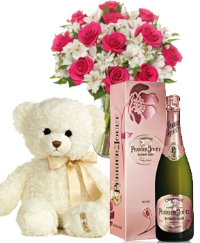 AMORE COLLECTION - PERRIER JOUET CHAMPAGNE BLASON ROSE