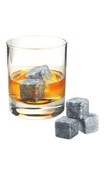 ORIGINAL SOAPSTONE WHISKY ROCKS - S
