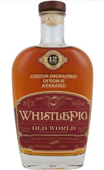 WHISTLEPIG STRAIGHT RYE WHISKEY 12
