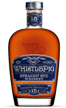 WHISTLEPIG STRAIGHT RYE VERMONT OAK