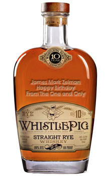 WHISTLEPIG STRAIGHT RYE WHISKEY 10