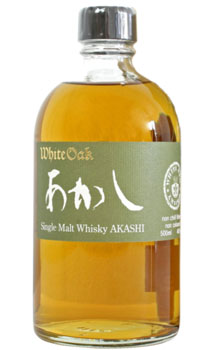 WHITE OAK WHISKY SINGLE MALT AKASHI