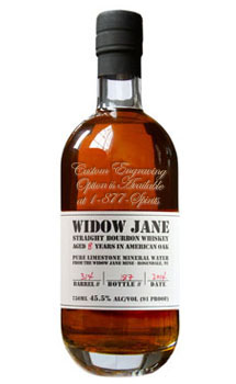 WIDOW JANE BOURBON - CUSTOM ENGRAVE