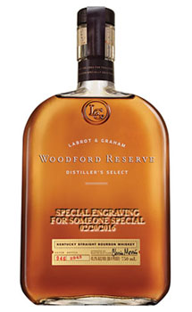 WOODFORD RESERVE BOURBON - CUSTOM E