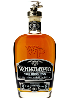 WHISTLEPIG BOSS HOG RYE WHISKEY - 5TH EDITION THE SPIRITS OF MAUVE