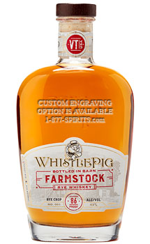 WHISTLEPIG FARMSTOCK RYE WHISKEY -