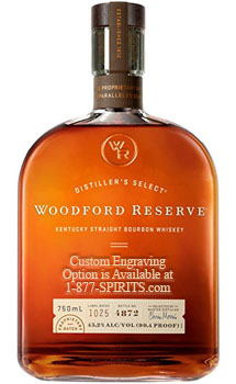 WOODFORD RESERVE BOURBON - 1.75L CUSTOM ENGRAVED