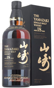 YAMAZAKI WHISKY SINGLE MALT 18 YEAR
