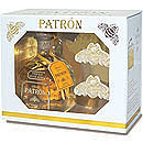 Patrón Añejo Tequila Gift Set with Bee Ornaments